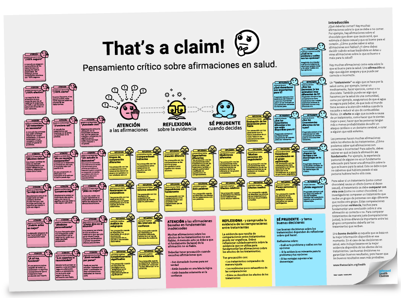 That's a claim! Poster